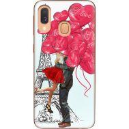 Силиконовый чехол BoxFace Samsung A405 Galaxy A40 Love in Paris (36707-up2460)