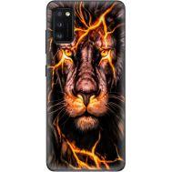 Силиконовый чехол BoxFace Samsung A415 Galaxy A41 Fire Lion (39755-up2437)