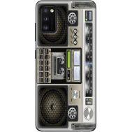 Силиконовый чехол BoxFace Samsung A415 Galaxy A41 Old Boombox (39755-up2446)