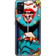 Силиконовый чехол BoxFace Samsung A415 Galaxy A41 Girl Pop Art (39755-up2444)