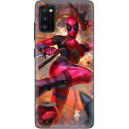 Силиконовый чехол BoxFace Samsung A415 Galaxy A41 Woman Deadpool (39755-up2453)