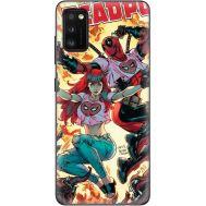Силиконовый чехол BoxFace Samsung A415 Galaxy A41 Deadpool and Mary Jane (39755-up2454)