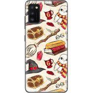 Силиконовый чехол BoxFace Samsung A415 Galaxy A41 Magic Items (39755-up2455)