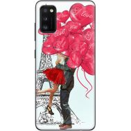 Силиконовый чехол BoxFace Samsung A415 Galaxy A41 Love in Paris (39755-up2460)