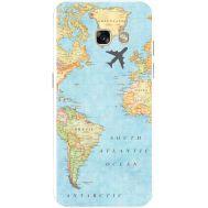 Силиконовый чехол BoxFace Samsung A320 Galaxy A3 2017 Карта (27928-up2434)