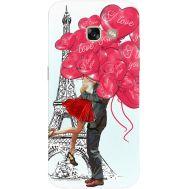 Силиконовый чехол BoxFace Samsung A320 Galaxy A3 2017 Love in Paris (27928-up2460)