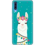 Силиконовый чехол BoxFace Samsung A705 Galaxy A70 Cold Llama (36860-up2435)