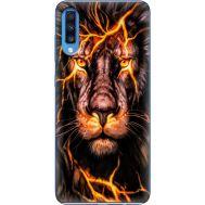 Силиконовый чехол BoxFace Samsung A705 Galaxy A70 Fire Lion (36860-up2437)