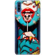 Силиконовый чехол BoxFace Samsung A705 Galaxy A70 Girl Pop Art (36860-up2444)