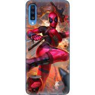 Силиконовый чехол BoxFace Samsung A705 Galaxy A70 Woman Deadpool (36860-up2453)