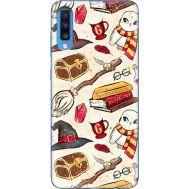 Силиконовый чехол BoxFace Samsung A705 Galaxy A70 Magic Items (36860-up2455)