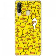Силиконовый чехол BoxFace Samsung A6060 Galaxy A60 Yellow Ducklings (37396-up2428)