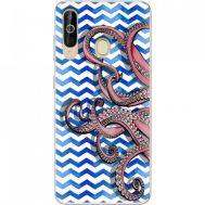 Силиконовый чехол BoxFace Samsung A6060 Galaxy A60 Sea Tentacles (37396-up2430)
