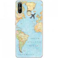 Силиконовый чехол BoxFace Samsung A6060 Galaxy A60 Карта (37396-up2434)