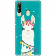 Силиконовый чехол BoxFace Samsung A6060 Galaxy A60 Cold Llama (37396-up2435)