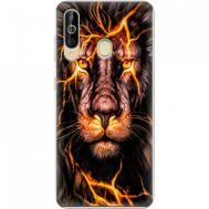 Силиконовый чехол BoxFace Samsung A6060 Galaxy A60 Fire Lion (37396-up2437)