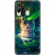 Силиконовый чехол BoxFace Samsung A6060 Galaxy A60 White Tiger Cub (37396-up2452)