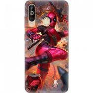 Силиконовый чехол BoxFace Samsung A6060 Galaxy A60 Woman Deadpool (37396-up2453)