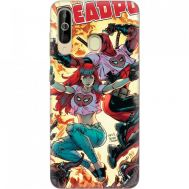 Силиконовый чехол BoxFace Samsung A6060 Galaxy A60 Deadpool and Mary Jane (37396-up2454)