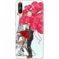 Силиконовый чехол BoxFace Samsung A6060 Galaxy A60 Love in Paris (37396-up2460)