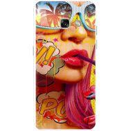 Силиконовый чехол BoxFace Samsung A520 Galaxy A5 2017 Yellow Girl Pop Art (27929-up2442)