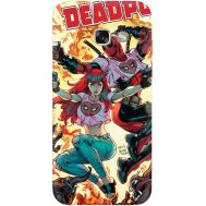 Силиконовый чехол BoxFace Samsung A520 Galaxy A5 2017 Deadpool and Mary Jane (27929-up2454)