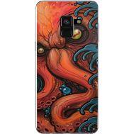 Силиконовый чехол BoxFace Samsung A530 Galaxy A8 (2018) Octopus (32657-up2429)