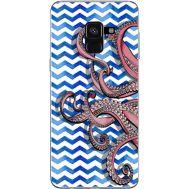Силиконовый чехол BoxFace Samsung A530 Galaxy A8 (2018) Sea Tentacles (32657-up2430)