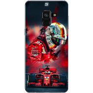 Силиконовый чехол BoxFace Samsung A530 Galaxy A8 (2018) Racing Car (32657-up2436)