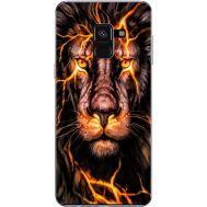 Силиконовый чехол BoxFace Samsung A530 Galaxy A8 (2018) Fire Lion (32657-up2437)