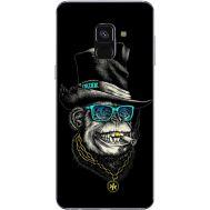 Силиконовый чехол BoxFace Samsung A530 Galaxy A8 (2018) Rich Monkey (32657-up2438)