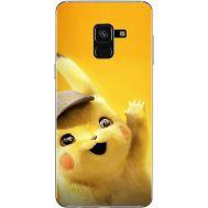 Силиконовый чехол BoxFace Samsung A530 Galaxy A8 (2018) Pikachu (32657-up2440)