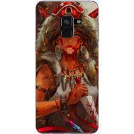 Силиконовый чехол BoxFace Samsung A530 Galaxy A8 (2018) Принцесса Мононоке (32657-up2451)