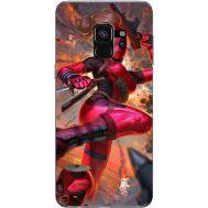 Силиконовый чехол BoxFace Samsung A530 Galaxy A8 (2018) Woman Deadpool (32657-up2453)