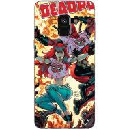 Силиконовый чехол BoxFace Samsung A530 Galaxy A8 (2018) Deadpool and Mary Jane (32657-up2454)