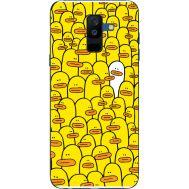 Силиконовый чехол BoxFace Samsung A605 Galaxy A6 Plus 2018 Yellow Ducklings (33377-up2428)