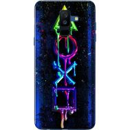 Силиконовый чехол BoxFace Samsung A605 Galaxy A6 Plus 2018 Graffiti symbols (33377-up2432)
