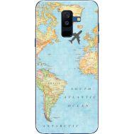 Силиконовый чехол BoxFace Samsung A605 Galaxy A6 Plus 2018 Карта (33377-up2434)