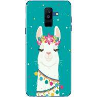Силиконовый чехол BoxFace Samsung A605 Galaxy A6 Plus 2018 Cold Llama (33377-up2435)