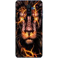 Силиконовый чехол BoxFace Samsung A605 Galaxy A6 Plus 2018 Fire Lion (33377-up2437)