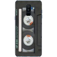 Силиконовый чехол BoxFace Samsung A605 Galaxy A6 Plus 2018 Старая касета (33377-up2445)