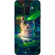 Силиконовый чехол BoxFace Samsung A605 Galaxy A6 Plus 2018 White Tiger Cub (33377-up2452)