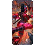 Силиконовый чехол BoxFace Samsung A605 Galaxy A6 Plus 2018 Woman Deadpool (33377-up2453)
