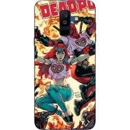 Силиконовый чехол BoxFace Samsung A605 Galaxy A6 Plus 2018 Deadpool and Mary Jane (33377-up2454)
