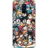 Силиконовый чехол BoxFace Samsung A605 Galaxy A6 Plus 2018 Anime Stickers (33377-up2458)