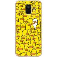 Силиконовый чехол BoxFace Samsung A600 Galaxy A6 2018 Yellow Ducklings (33376-up2428)