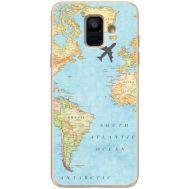 Силиконовый чехол BoxFace Samsung A600 Galaxy A6 2018 Карта (33376-up2434)