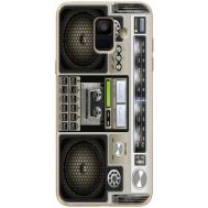 Силиконовый чехол BoxFace Samsung A600 Galaxy A6 2018 Old Boombox (33376-up2446)
