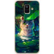 Силиконовый чехол BoxFace Samsung A600 Galaxy A6 2018 White Tiger Cub (33376-up2452)