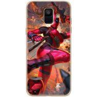Силиконовый чехол BoxFace Samsung A600 Galaxy A6 2018 Woman Deadpool (33376-up2453)